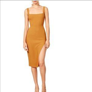 REFORMATION Christina Dress (Yellow/Butterscotch)